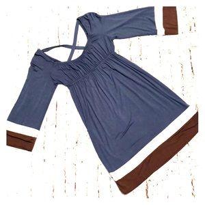 Ella Moss Jersey Knit Dress Small